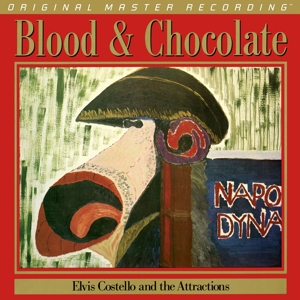vinyl LP ELVIS COSTELLO Blood & Chocolate
