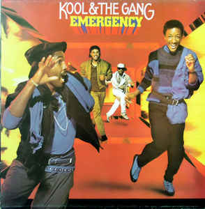 vinyl LP KOOL & THE GANG Emergency