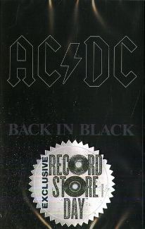 MC casette AC/DC Back In Black - RSD