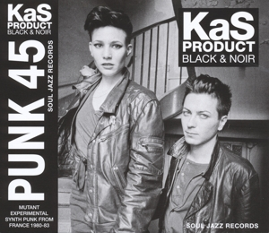 vinyl LP KAS PRODUCT Black & Noir