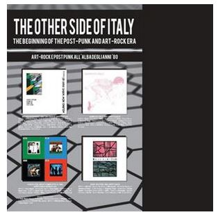vinyl 4LP THE OTHER SIDE OF ITALY (various artists)