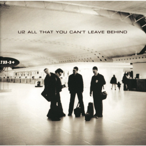 vinyl LP U2 ALL THAT YOU CAN'T LEAVE