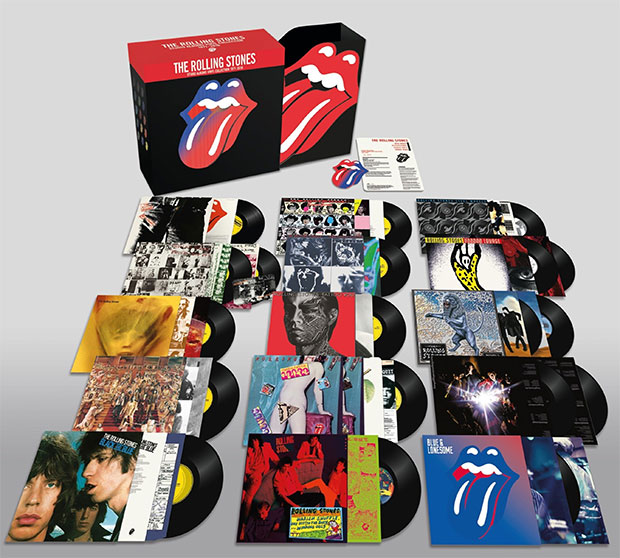 vinyl 20LP set THE ROLLING STONES STUDIO ALBUMS VINYL COLLECTION