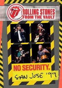 vinyl 3LP ROLLING STONES No Security - San Jose 1999