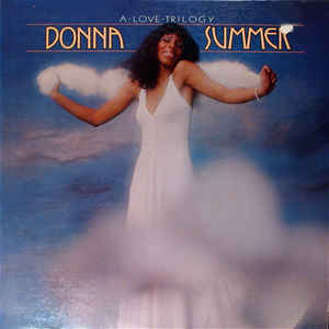 vinyl LP DONNA SUMMER A Love Trilogy