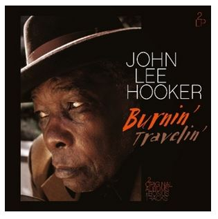 vinyl LP HOOKER JOHN LEE Travelin' & Burnin'