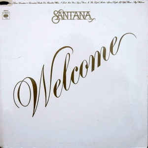 vinyl LP SANTANA Welcome