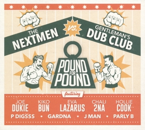 vinyl LP NEXTMAN vs GENTLEMAN´S DUB CLUB Pound For Pound