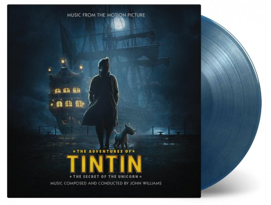 vinyl 2LP THE ADVENTURES OF TINTIN: THE SECRET OF THE UNICORN (soundtrack)