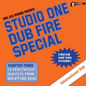 vinyl LP STUDIO ONE Dub Fire Special