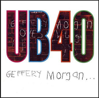vinyl LP UB40 Geffery Morgan...