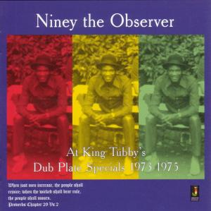 vinyl LP NINEY THE OBSERVER At King Tubby's