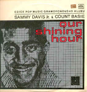 vinyl LP SAMMY DAVIS Jr. & COUNT BASIE Our Shining Hour