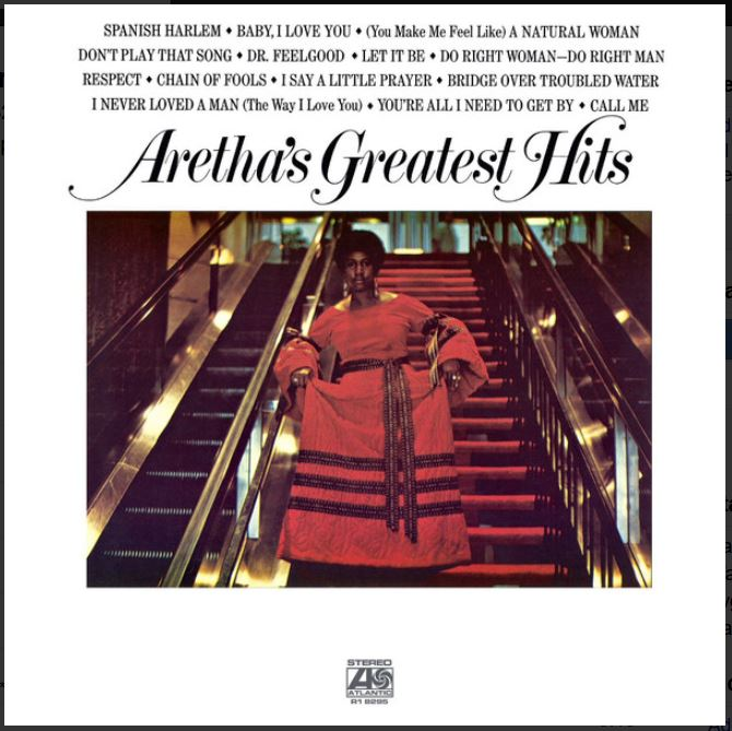 vinyl LP ARETHA FRANKLIN Greatest Hits