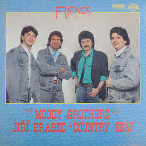 vinyl LP THE MOODY BROTHERS With JIŘÍ BRABEC Friends