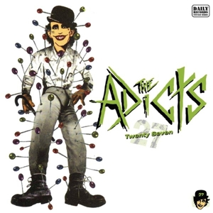 vinyl LP THE ADICTS Twenty-Seven
