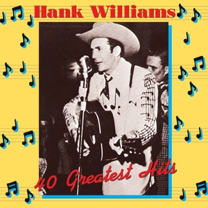 vinyl 2LP HANK WILLIAMS 40 Greatest Hits