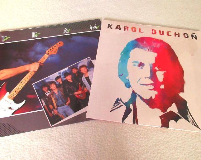vinyl LP set KAROL DUCHOŇ + LP TEAM