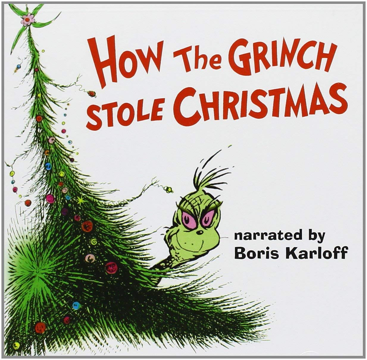vinyl LP How the Grinch Stole Christmas OST