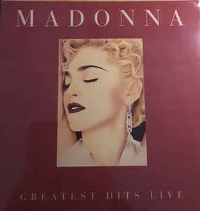 vinyl LP MADONNA Greatest Hits Live