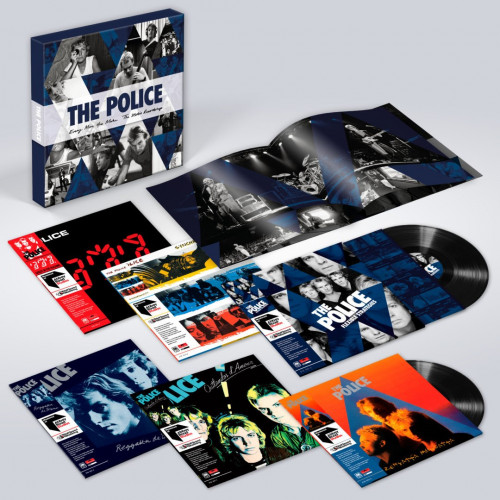 vinyl 6LP THE POLICE EVERY MOVE YOU MAKE: The Studio Recordings