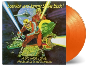 vinyl LP SCIENTIST & PRINCE JAMMY Scientist & Prince Jammy Strike Back!