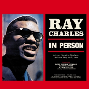 vinyl LP RAY CHARLES In Person