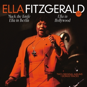 vinyl 2LP ELLA FITZGERALD Ella In Berlin/Hollywood