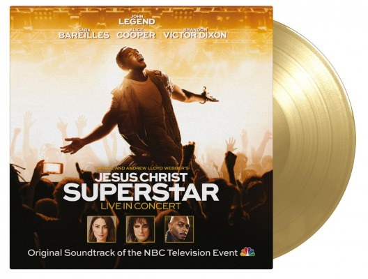 vinyl 2LP JESUS CHRIST SUPERSTAR LIVE IN CONCERT(JOHN LEGEND, ALICE COOPER, SARA BAREILLES A.O) soundtrack