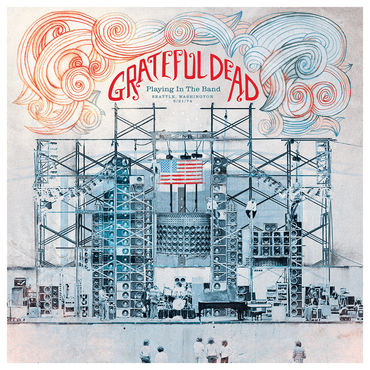 vinyl LP GRATEFUL DEAD Playing In The Band, Seattle Wa 5/21/74