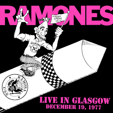 vinyl 2LP RAMONES Live In Glasgow December 19, 1977