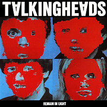 vinyl LP TALKING HEADS Remain In Light