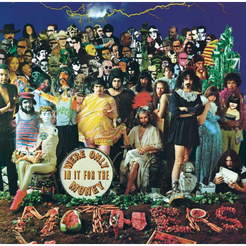 vinyl LP WE'RE ONLY IN IT FOR THE MONEY (FRANK ZAPPA)