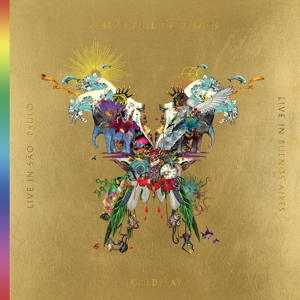 COLDPLAY LIVE IN BUENOS AIRES/LIVE IN SAO PAULO/A HEAD FULL OF DREAMS (3LP+2DVD)