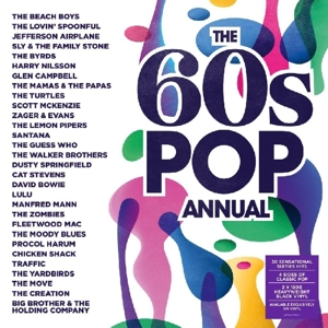vinyl 2LP 60's Pop Annual (various artists)
