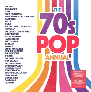 vinyl 2LP 70's Pop Annual (various artists)