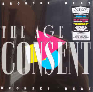 vinyl LP BRONSKI BEAT The Age Of Consent