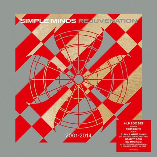 vinyl 6LP SIMPLE MINDS Rejuvenation 2001-2014