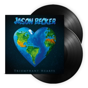 vinyl 2LP JASON BECKER Triumphant Hearts
