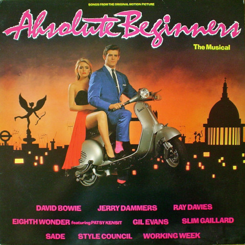 vinyl LP ABSOLUTE BEGGINERS Soundtrack