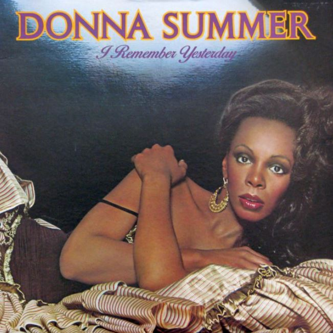 vinyl LP DONNA SUMMER A Remember Yesterday