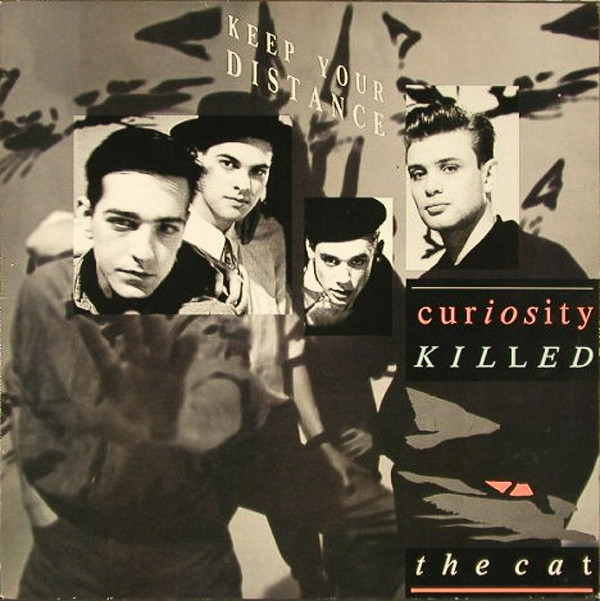 vinyl LP  CURIOSITY KILLED THE CAT Keep Your Distance
