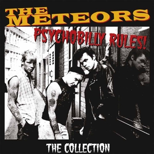 vinyl LP METEORS Psychobilly Rules