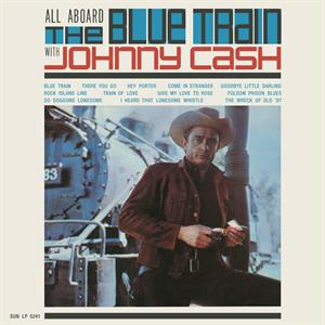 vinyl LP JOHNNY CASH All Aboard the Blue Train