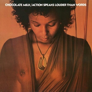 vinyl LP CHOCOLATE MILK Action Speaks Louder Than Words
