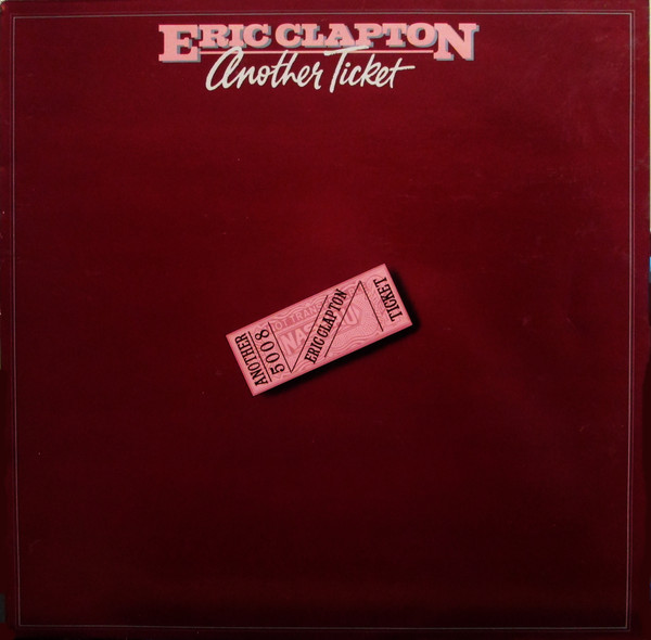 vinyl LP ERIC CLAPTON Another Ticket
