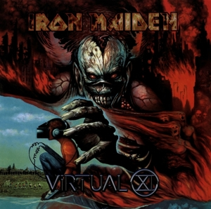 vinyl 2LP IRON MAIDEN VIRTUAL XI