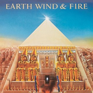 vinyl LP EARTH WIND & FIRE All´N All