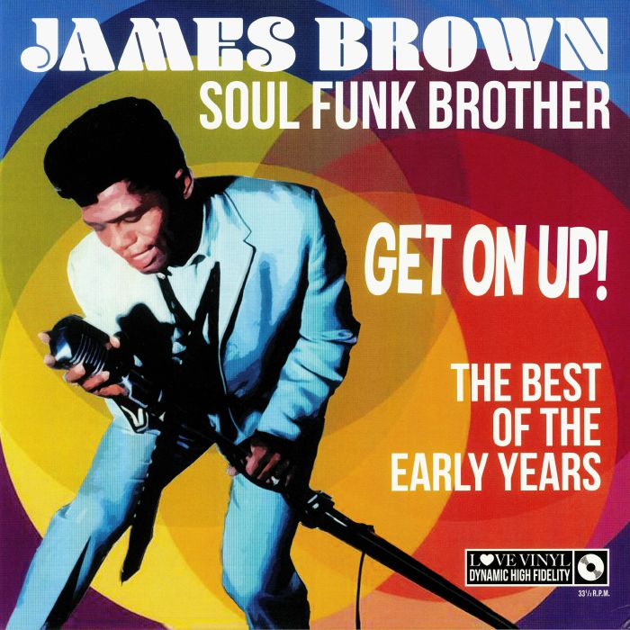 vinyl LP JAMES BROWN Soul Funk Brother