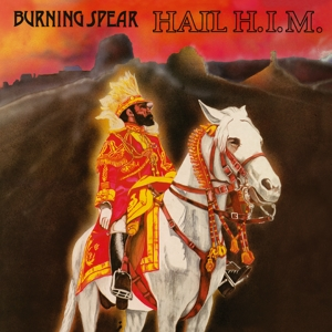 vinyl LP BURNING SPEAR Hail H.I.M.